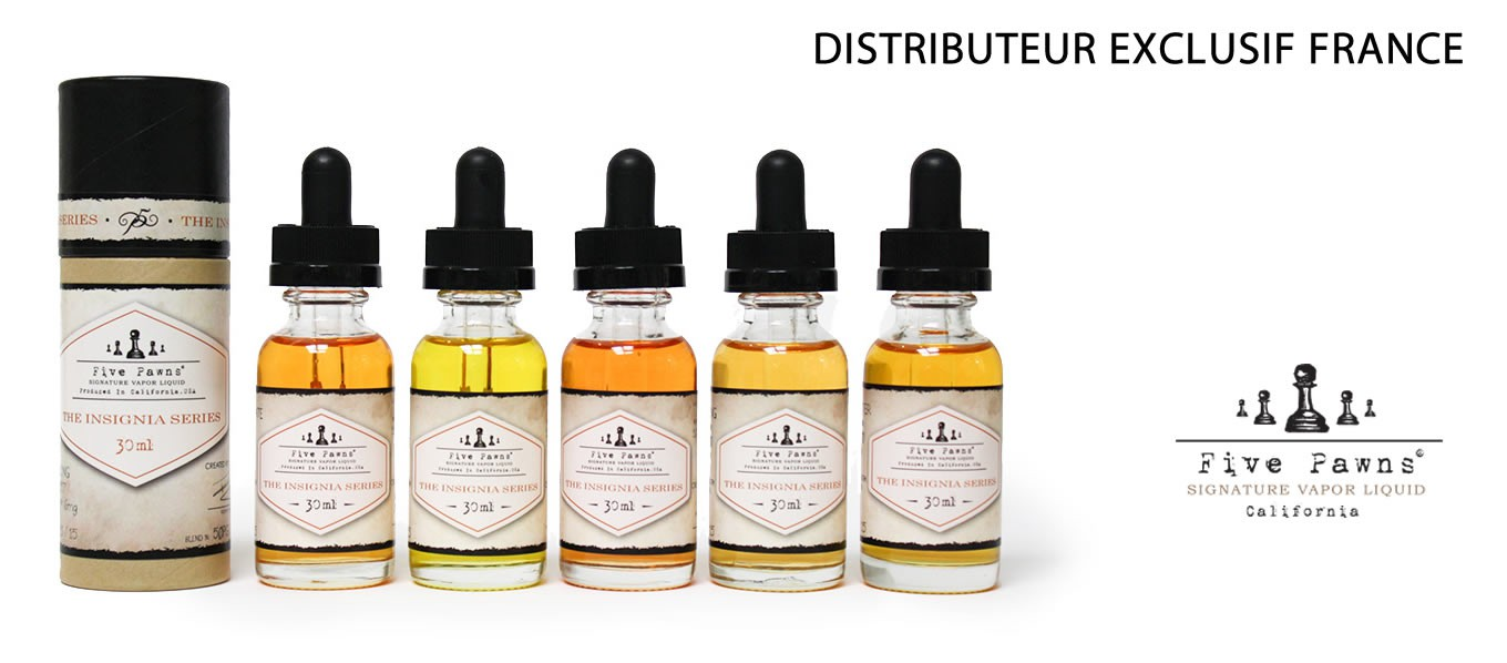 Five Pawns - Cigatec - distributeur exclusif pour la France