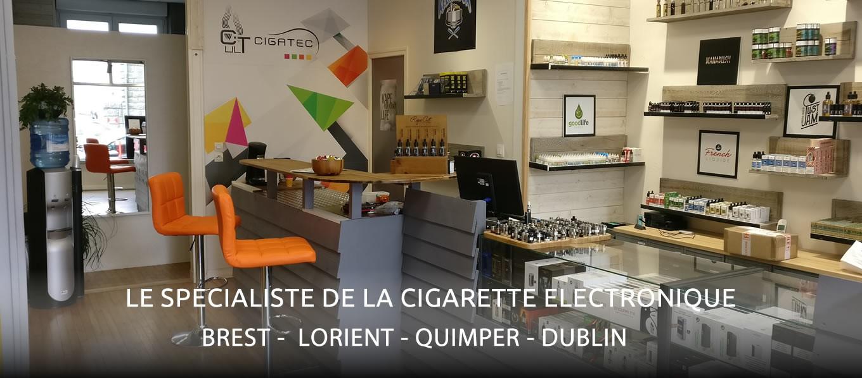Cigatec - Specialiste de la cigarette électronique - Brest - Lorient - Quimper